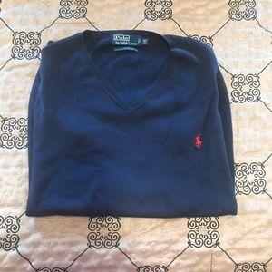 Polo Ralph Lauren XLT V-Neck Sweater Vest